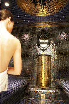 Mykonos luxury spa, the hammam