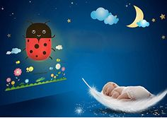 Bug Design Night Light Lamp by Little Lamby with 2 Electrical Plug Covers  LED powered for Baby and Toddlers Perfect for Bedside Table or Bathrooms Electrically Powered * Read more reviews of the product by visiting the link on the image.
