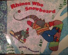 Mammano, Rhinos Who Snowboard, Rhinos, snowboarding, winter