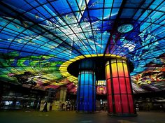 If you ever find yourself in Taiwan, definitely check out the Dome of Light, Kaohsiung Metro Station