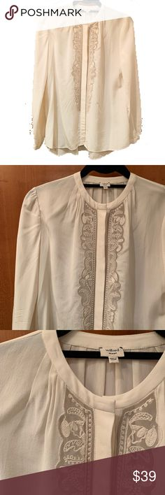 f2fa3d4517d Aritzia - New Listing- white silk blouse 100% silk. Worn only few times