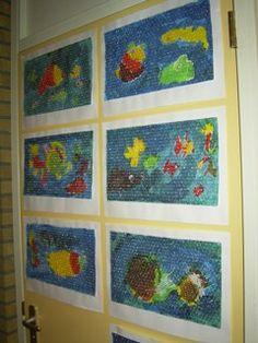 www.jufjanneke.nl | De mooiste vis van de zee Zoo Activities, Wordpress, Rainbow Fish, Toddler Art, Sea Fish, Process Art, Too Cool For School, Ocean Life, Under The Sea