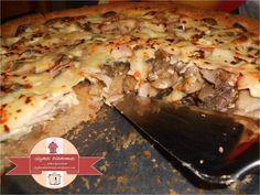 Τάρτα Μανιταρένια με αλεύρι ολικής και κρέμα τυριού / glykesdiadromes.wordpress.com Hawaiian Pizza, Lasagna, Stuffed Mushrooms, Ethnic Recipes, Wordpress, Food, Stuff Mushrooms, Essen, Meals