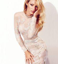 Blake Lively ::: white sequins