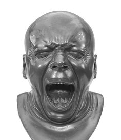 Franz Xaver Messerschmidt, The Yawner, 1771–1781. © Museum of Fine Art, Budapest.