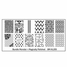 Bundle Monster Blogger Collaboration Stamping Plates Set One - Swatches & Review by Olivia Jade Nails