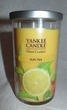 Yankee Candle Home Classics - SUN TEA - 12 oz Pillar Candle