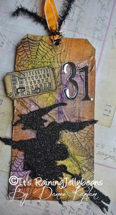 Its Raining Jelly Beans: Tim Holtz's 12 Tags of 2012: October Edition