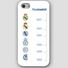 Fundas para iPhone 4-4s-5-5s, con diseños del Real Madrid CF. Materiales policarbonato semiflexible y  color blanco Puedes ver más detalles y Comprar con envió gratis en: http://www.upaje.com/shop/fundas-moviles/real-madrid-cf-iphone-5-5s/ #fundas #carcasas #iphone4 #iphone4s #iphone5 #iphone5s #realmadrid #blanco