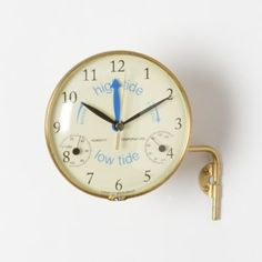 Time & Tide Clock in Outdoor Living TRENDING Fresh Finds at Terrain