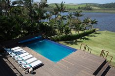 If you like a little style mixed in with your sea and sand on a beach holiday, Zinkwazi Laguna is for you. Laidback luxe at its best. Kwazulu Natal, North Coast, Beach Holiday, Rental Property, Pools, South Africa, Vacation, Outdoor Decor, Beautiful
