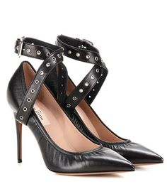 Valentino Valentino Garavani Love Latch Leather Pumps For Spring-Summer 2017