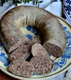 Домашняя ливерная колбаса