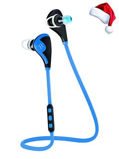 Bluetooth Headphones V4.1 Wireless Headset Sweat Proof Earbuds from Ferlen LightWeight Design Noise Isolating Sport Earphones ideal for Exercise/Running/Gym/Workout/ with Mic and High Quality Stereo Sound for iPhone 6 6 plus 6S 6S plus 5S 4S LG Asus Motorola Sony HTC Galaxy S6 S6 Edge S5 S4 S3 Note 5 4 3 and iOS Android Windows Smartphones and Tablets (Blue) Ferlen http://www.amazon.com/dp/B012E4IF74/ref=cm_sw_r_pi_dp_HzbCwb0H9NJMM