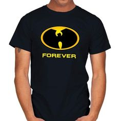 WUFOREVER T-Shirt - Wu-Tang Clan T-Shirt at RIPT! $7 off with code: CHOICE! Wu Tang Clan, Batman Stuff, Sleeves, Mens Tops, T Shirt, Label, Neckline, Cotton, Art