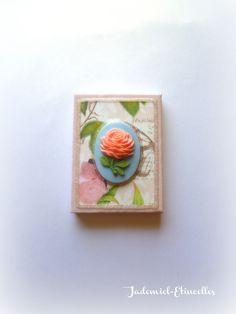 """Mini toile décorative """" Songes de fleurs """" n°60 : Accessoires de maison par jademiel-etincelles"""