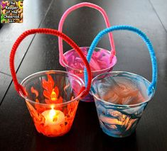 Plastic Cup Lanterns and Luminaries - The Keeper of the Cheerios Bible School Crafts, Sunday School Crafts, Bible Crafts, Preschool Crafts, Themes For Preschool, Camp Theme Classroom, Preschool Camping Activities, Camping With Kids, Camping Ideas