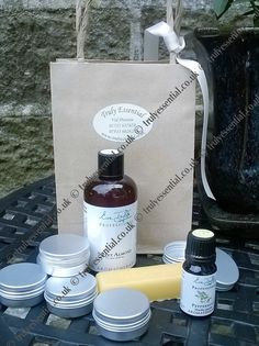 Truly Essential - Shop www.trulyessential.co.uk Lip balm kit everything you need to make at home.