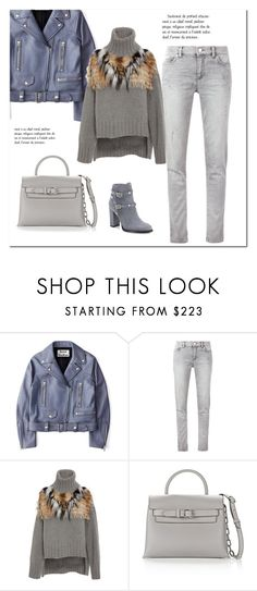 """""""Lilac Aurora"""" by minorseventh ❤ liked on Polyvore featuring Acne Studios, Versace, Sally Lapointe, Alexander Wang and Valentino"""