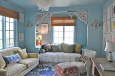 I just love this little girls room - would love to do it for my 10yr old!