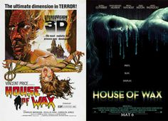 La casa de cera (1953) Vs La casa de cera (2005)