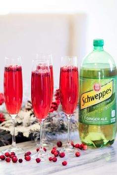 This post has been sponsored by Schweppes®. All thoughts and opinions are my own.I felt the first hint of an autumn breeze last week, so my holiday fever has officially kicked intohigh gear. I've spent the last few days researching the best Christmas cookie recipes, drafting my holiday shopping lists, and of course, planning our first holiday party in our…