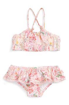 Seafolly 'Prairie Girl' Two-Piece Swimsuit (Toddler Girls & Big Girls)…