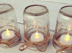 DIY Mason Jar Lanterns with String Lights Tutorial | 101 Mason Jar Crafts