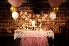 Little girl birthday party decor ideas