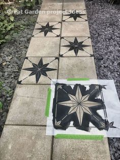 How to makeover a concrete slab patio/path for under > Let's Talk. How to makeover a concrete slab patio/path for under > Let's Talk.