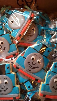 Thomas the Train Cookies, Birthday Party Favors