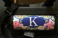 Travelling?  We have luggage finders!    #LuggageTag #LuggageHandle #PersonalizedFinder #LuggageWrap #MonogramFinder #luggage #LuggageFinder #personalized #CustomLuggage #PersonalizedLilly