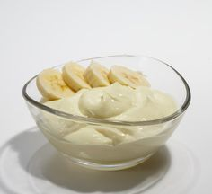 Banana pudding: stir banana protein powder into Greek yogurt or you could do another flavor of protein powder!