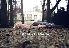 Sunday Funday: Supta Virasana - Reclining Hero Pose | by JuYogi