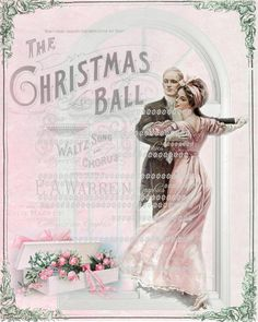 Cinnamon Rose Cottage — (via Pink The Christmas Ball roses Waltz dance by. Shabby Chic Christmas, Victorian Christmas, Pink Christmas, Christmas Balls, Christmas Time, Vintage Christmas, Merry Christmas, Christmas Crafts, Christmas Journal