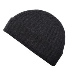 Our most popular style. This 100% Cashmere classic ribbed beanie looks and feels fantastic. Made using the latest in seamless knitting technology to avoid bulky seams, this timeless classic is a must have for those chilly Winter months.