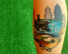 Neo traditional fishman tattoo by TONDRIK TATTOO, PRAGUE. Do not copy please! #tondriktattoo