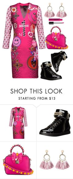 """""""Just For Fun"""" by naviaux ❤ liked on Polyvore featuring Just Cavalli, Dolce&Gabbana, SUGARFIX by BaubleBar and NYX"""