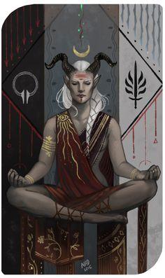 Commission: Anahita by DemonLife on DeviantArt