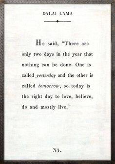 Dalai Lama, wisdom at is finest