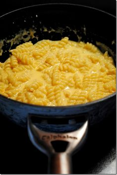 One pot - Stove top - Mac n Cheese Just made this, so good!!