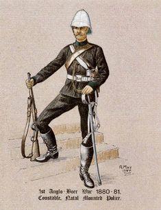 Duncan´s Colonial Modelling: Zulu war Volunteers,Irregulars and Auxilaries. British Army Uniform, British Uniforms, British Soldier, Colonial, Commonwealth, Military Guard, Safari, Age Of Empires, Zulu
