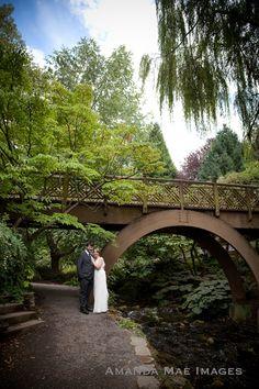 Crystal Springs Rhododendron Garden, Portland Oregon wedding