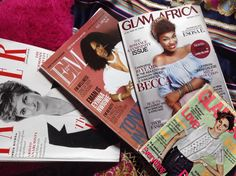 Lazy Sunday... Magazines - Half thrifted half gifted... Content ideas come from everywhere and anywhere. May I not suffer from over-information. #SundayVibes