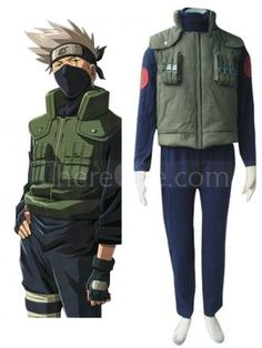 Naruto Hidden Leaf Village Of Konoha Jounins Cosplay Uniform