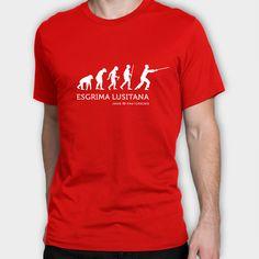 T-shirt vermelha com