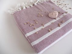 Handwoven Turkish Bath Towel Turkish Peshtemal by TheAnatolian, $28.00