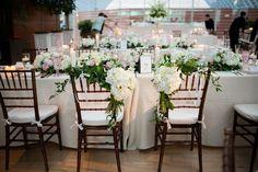Japanese Orchids Fill the Kimmel Center at Philadelphia Wedding - MODwedding
