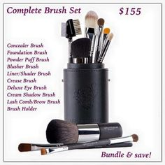 All Younique makeup brushes have an inner high-quality copper ferrule - which means it won't rust when you use them wet or dry. They are made to last a lifetime, and are certified cruelty-free. So, why continue to spend money on generic sets? Buy one set and be done buying brushes for life http://SARAHSWEETMAKEUP.COM