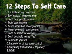 Taking care of sense of self